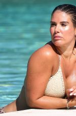 REBEKAH VARDY in Bikini at a Pool in Portugal 09/29/2018