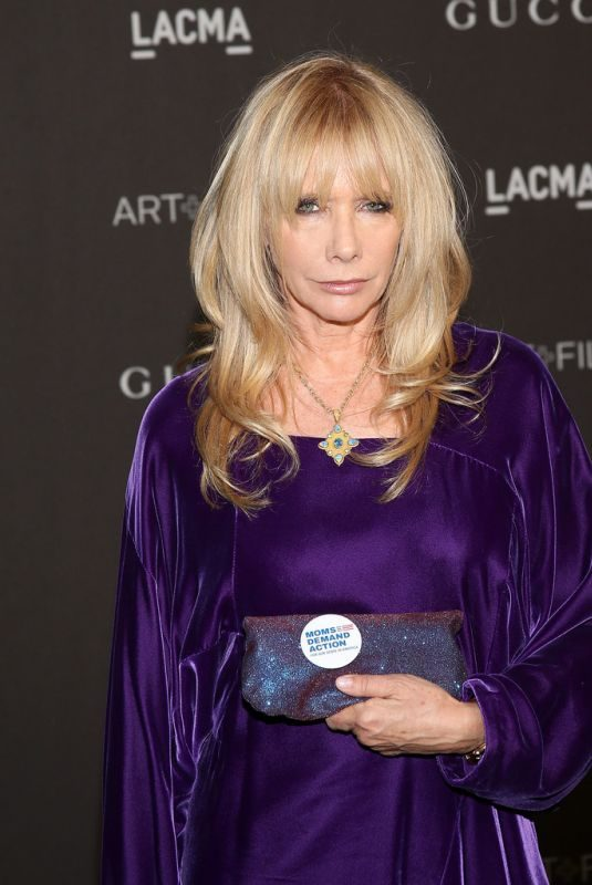 ROSANNA ARQUETTE at Lacma: Art and Film Gala in Los Angeles 11/03/2018