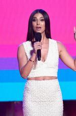 ROSELYN SANCHEZ at Almas 2018 Live on Fuse in Los Angeles 11/04/2018