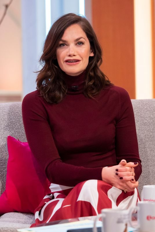RUTH WILSON at Lorraine Show in London 11/26/2018