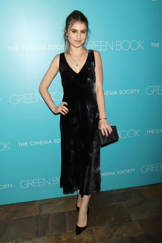 SAMI GAYLE at Green Book Premiere in New York 11/13/2018