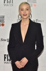SARAH GADON at Gotham Indepedent Film Awards 2018 in New York 11/26/218