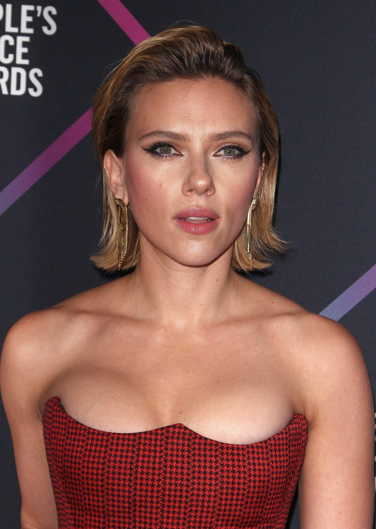 SCARLETT JOHANSSON at People's Choice Awards 2018 in Santa ...