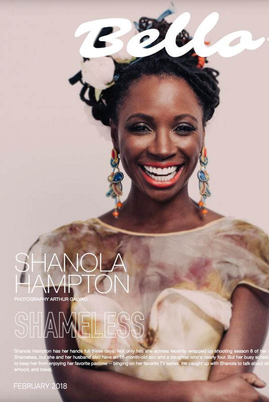 SHANOLA HAMPTON in Bello Magazine