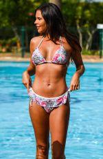 SHELBY TRIBBLE in Bikini at a Pool in Suffolk 10/17/2018
