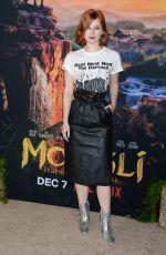 SIERRA MCCORMICK at Mowgli Premiere in Los Angeles 11/28/2018