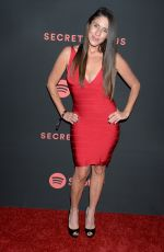 SOLEIL MOON FRYE at Spotify Secret Genius Awards in New York 11/16/2018