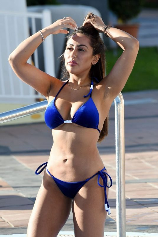 SOPHIE KASAEI in Bikini at a Pool in Marrakech 11/22/2018