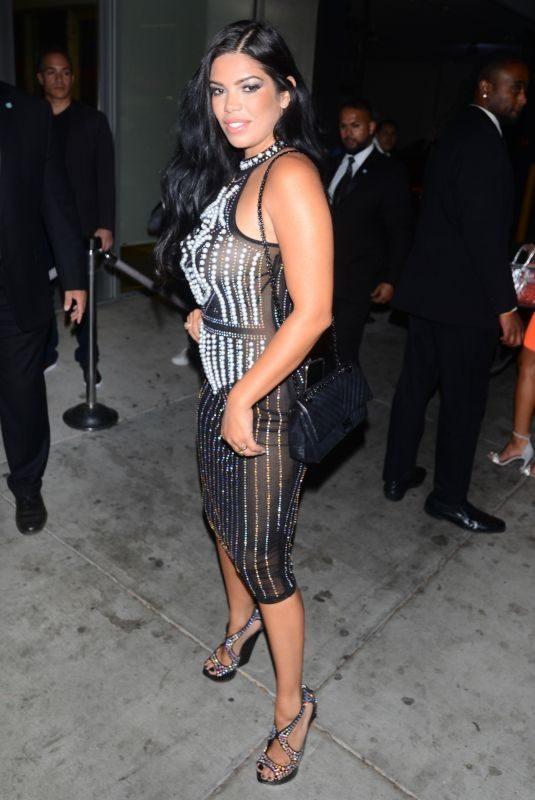 SUELYN MEDEIROS at Fashion Nova x Cardi B Launch in Los Angeles 11/14/2018