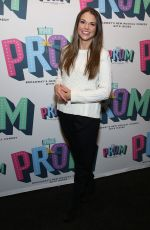 SUTTON FOSTER at Prom Opening Night in New York 11/15/2018