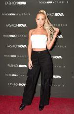 TAMMY HEMBROW at Fashion Nova x Cardi B Launch in Los Angeles 11/14/2018