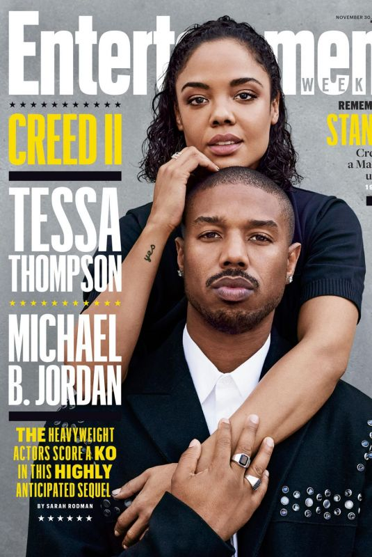 TESSA THOMPSON in Entertainment Weekly Magazine, November 2018