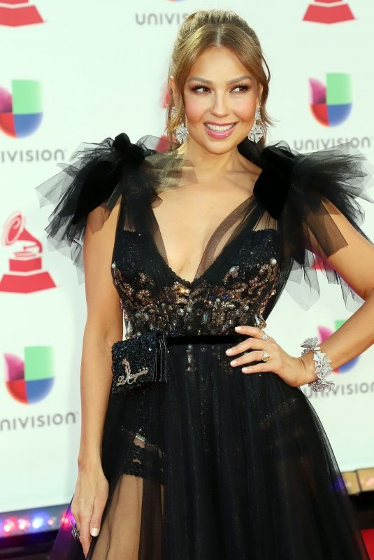 THALIA at 2018 Latin Grammy Awards in Las Vegas 11/15/2018