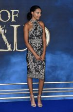 THEA LAMB at Fantastic Beasts: The Crimes of Grindelwald Premiere in London 11/13/2018