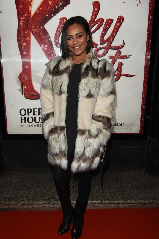 TISHA MERRY at Kinky Boots Press Night in Manchester 11/13/2018