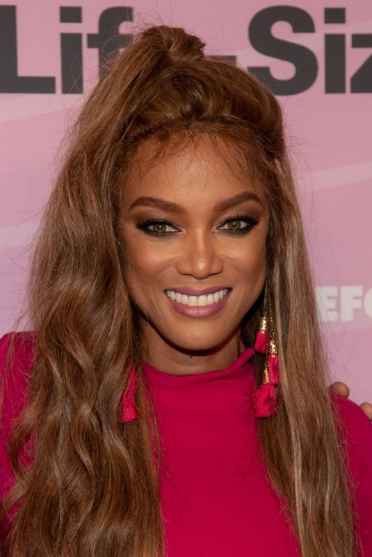 TYRA BANKS at Life-size 2 Premiere in Los Angeles 11/27/2018