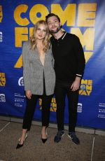 VERONICA DUNNE at Come from Away Opening Night Performance in Los Angeles 11/28/2018