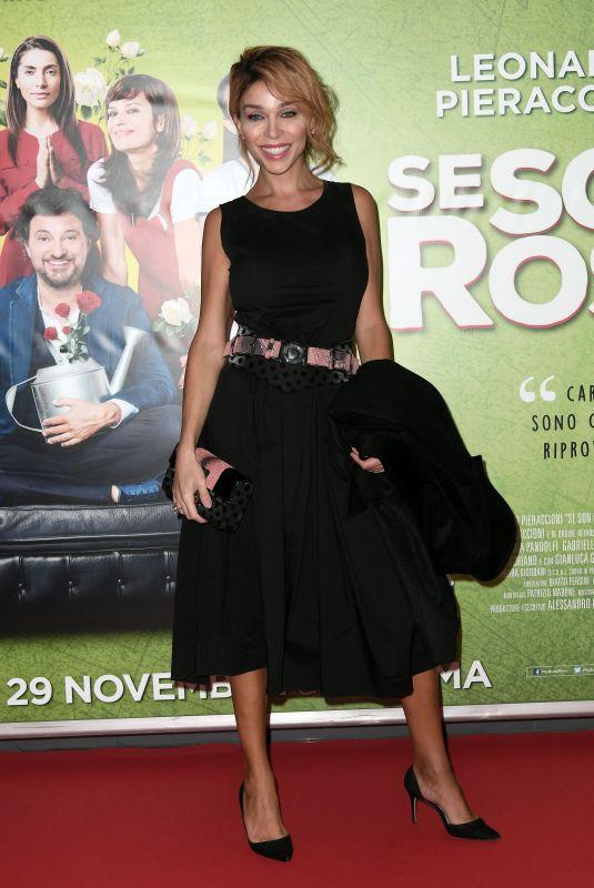 VITTORIA SCHISANO at Se Son Rose Premiere in Rome 11/27/2018