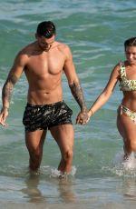 ZARA MCDERMOTT in Bikini at a Beach in Miami 11/08/2018