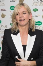 ZOE BALL at Specsavers National Book Awards in London 11/20/2018