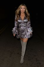 ABIGAIL CLARKE at Faces Nightclub in Essex 12/22/2018