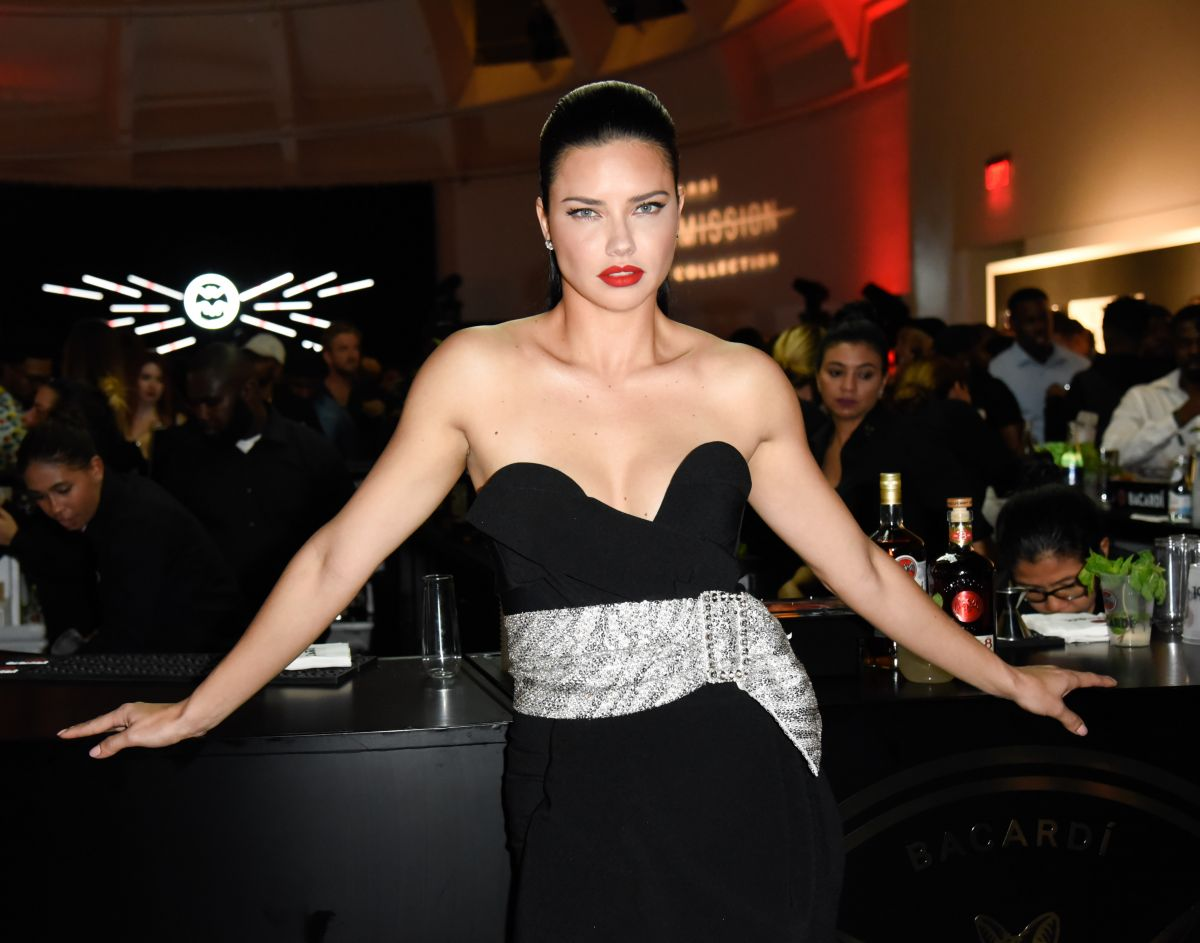 ADRIANA LIMA at Faena Forum in South Beach 12/07/2018