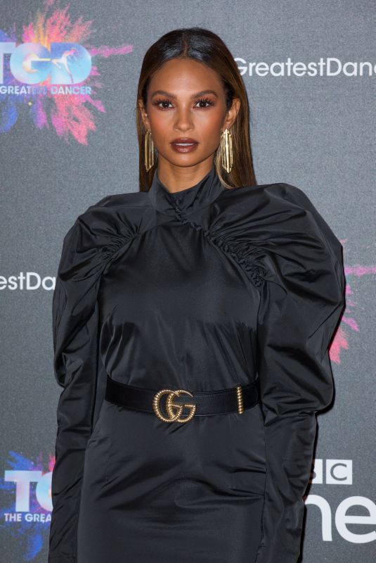 ALESHA DIXON at The Greatest Dancer Photocall in London 12/10/2018