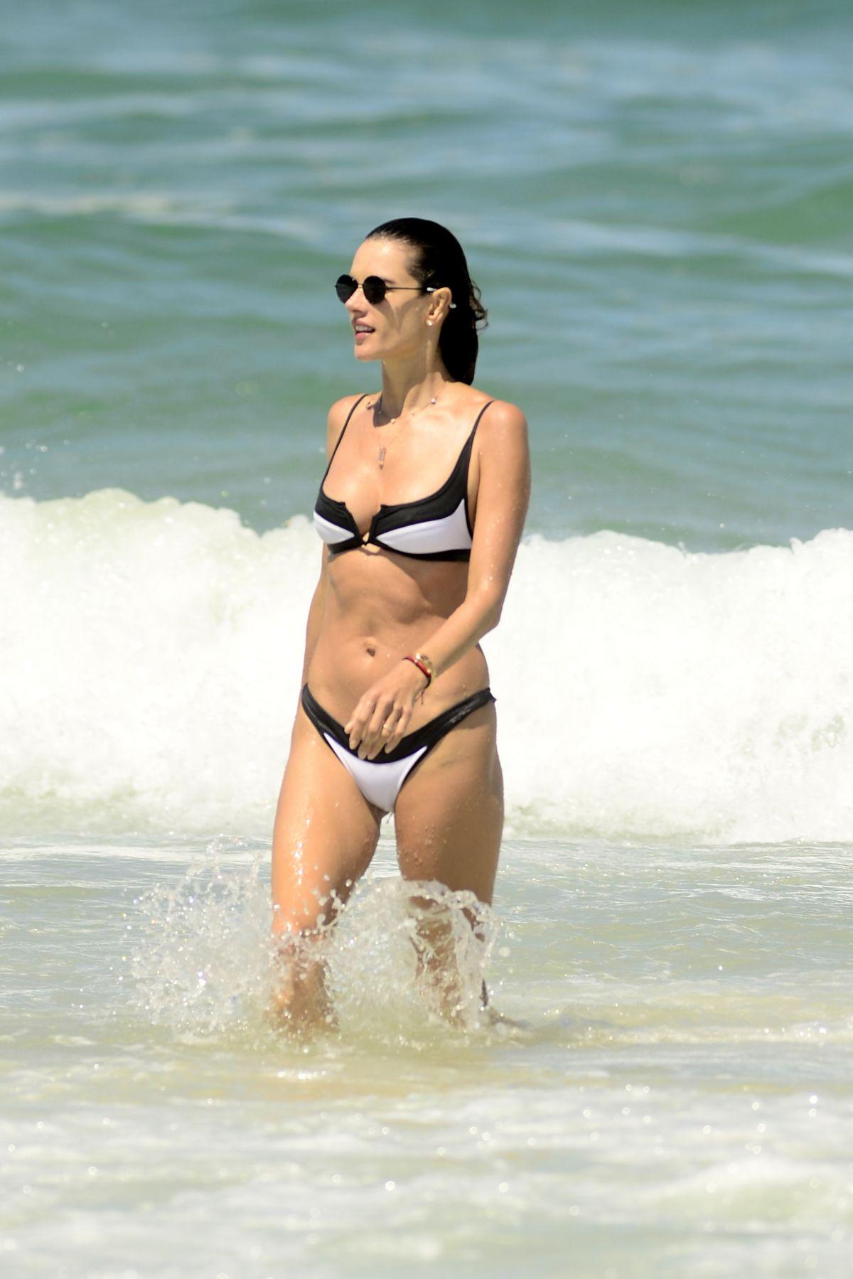 Alessandra Ambrosio in a Bikini - 27 Photos - 2019 year