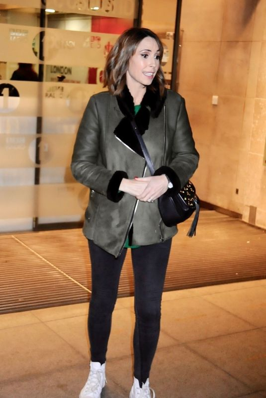 ALEX JONES Leaves BBC Studios in London 12/19/2018