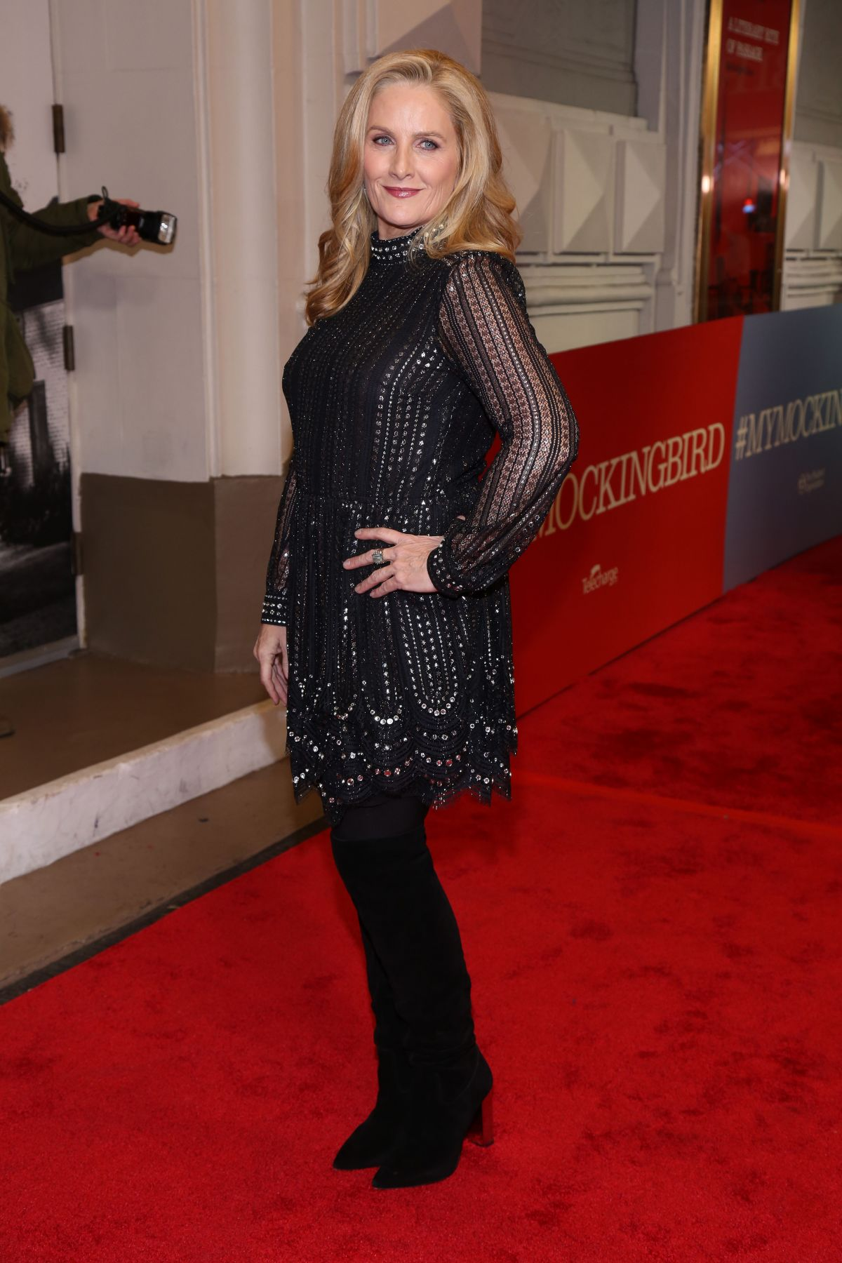 ALEX WITT at To Kill a Mocking Bird Opening Night on Broadway in New York  12/13/2018 – HawtCelebs