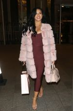 ALEXANDRA CANE at Oh Polly Christmas Party in London 12/03/2018