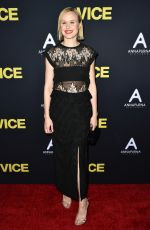 ALISON PILL at Vice Premiere in Los Angeles 12/11/2018