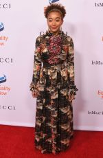 AMANDLA STENBERG at Make Equality Reality Gala in Beverly Hills 12/03/2018