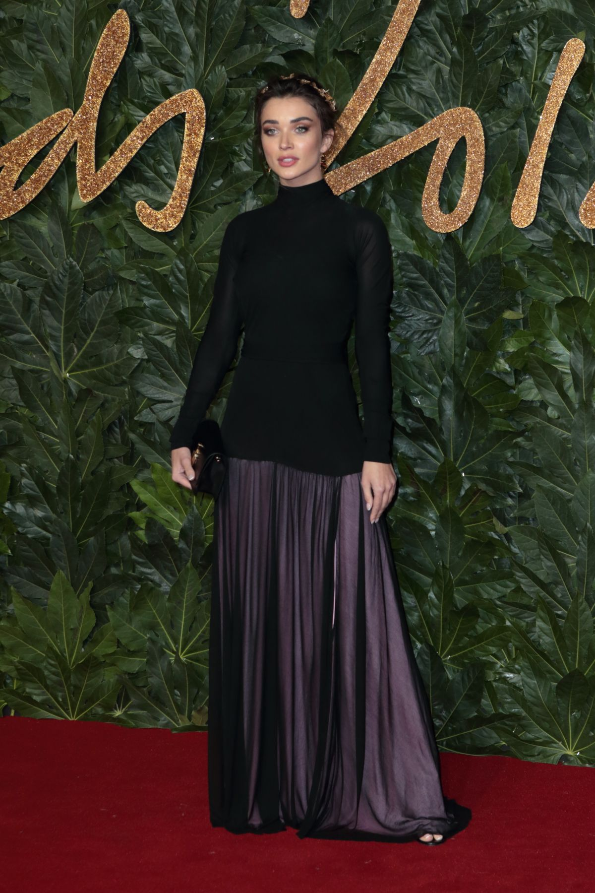 AMY JACKSON at British Fashion Awards in London 12/10/2018