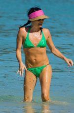 ANDREA CORR in Bikini at a Beach in Barbados 12/24/2018