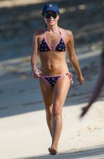 ANDREA CORR in Bikini om the Beach in Barbados 12/20/2018