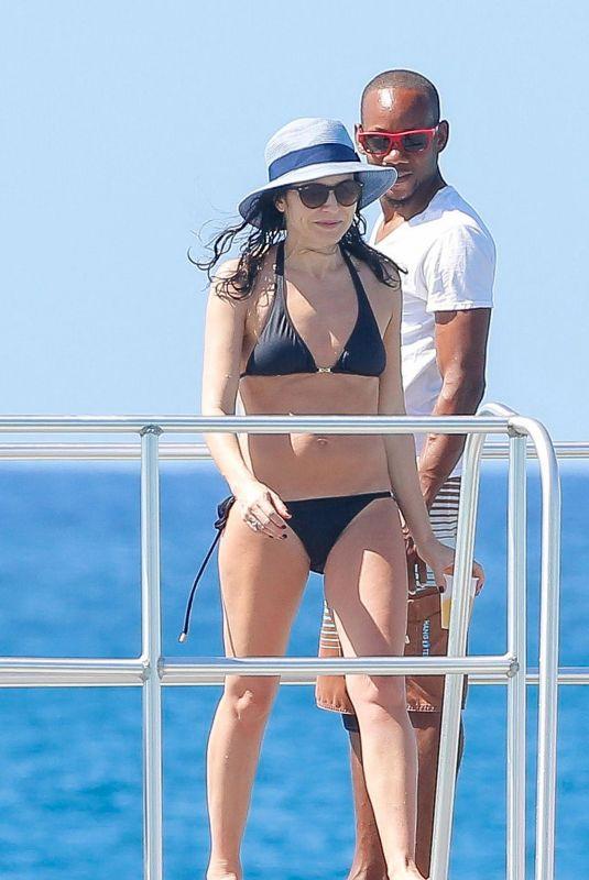 ANDREA CORR in Bikini on Vacation in Barbados 12/17/208