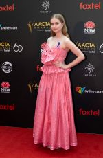 ANGOURI RICE at Aacta Awards Presented by Foxtel in Sydney 12/05/2018