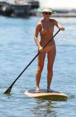 ANNA HEINRICH in Bikini Paddle Boarding in Sydney 12/30/2018