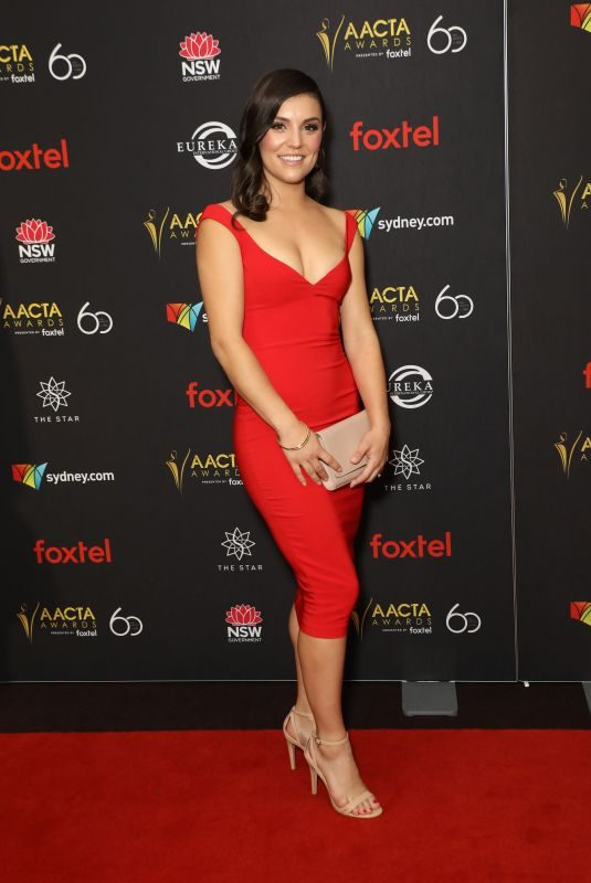 ASHLEIGH WELLS at AACTA Awards Industry Luncheon in Sydney 12/03/2018