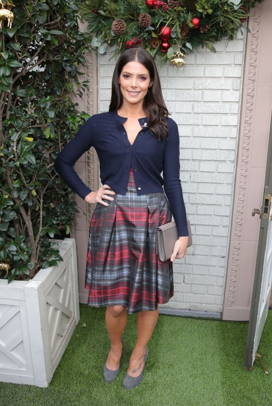 ASHLEY GREENE at Brooks Brothers Holiday Celebration in Los Angeles 12/09/2018