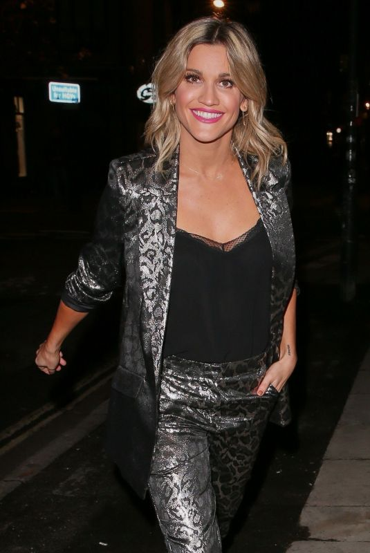 ASHLEY ROBERTS Night Out in London 12/03/2018