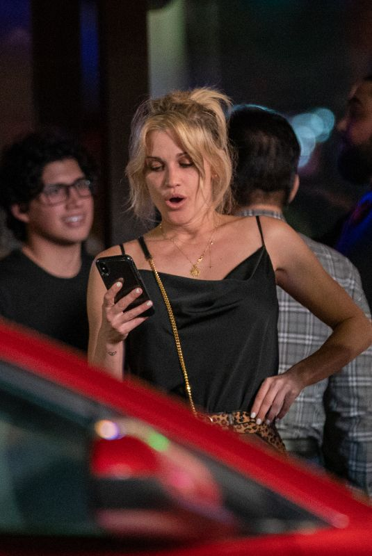 ASHLEY ROBERTS Night Out in Miami 12/30/2018
