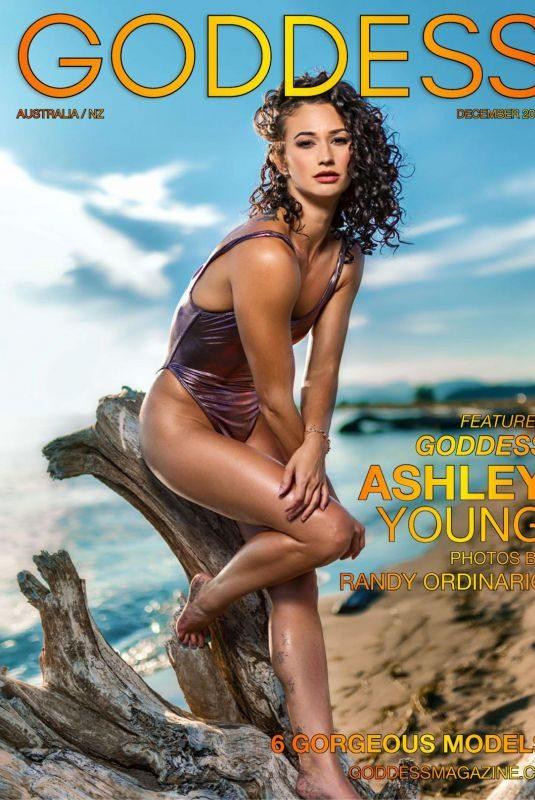 ASHLEY YOUNG in Goddess Magazine, Australia December 2018