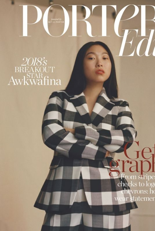AWKWAFIN in The Edit by Net-a-porter, December 2018