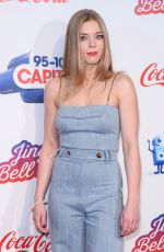 BECKY HILL at Capital FM Jingle Bell Ball in London 12/09/2018