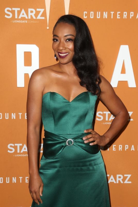BETTY GABRIEL at Counterpart, Season 2 Premiere in Culver City 12/03/2018