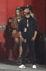 BEYONCE at Travis Scott's Holiday Party in West Hollywood 12/21/2018