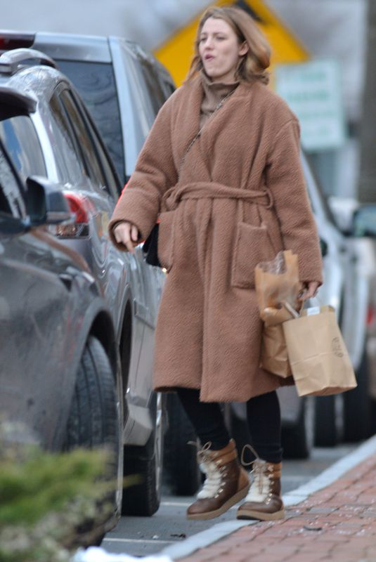 BLAKE LIVELY Out Shopping in New York 12/26/2018