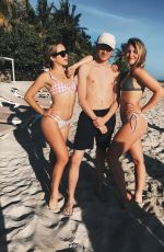 BREC BASSINGER in Bikini, Instagram Pictures December 2018
